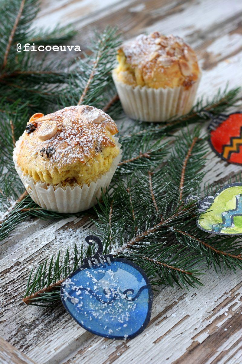 panettone muffin