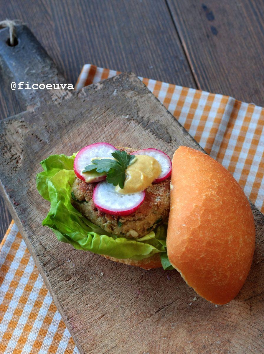 Hamburger lenticchie