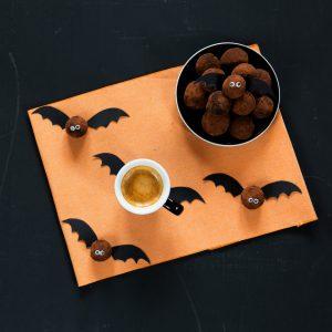 tartufi cioccolato caffè halloween