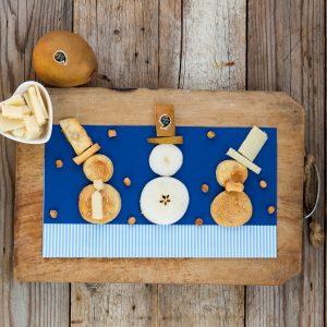 Biscotti parmigiano pere