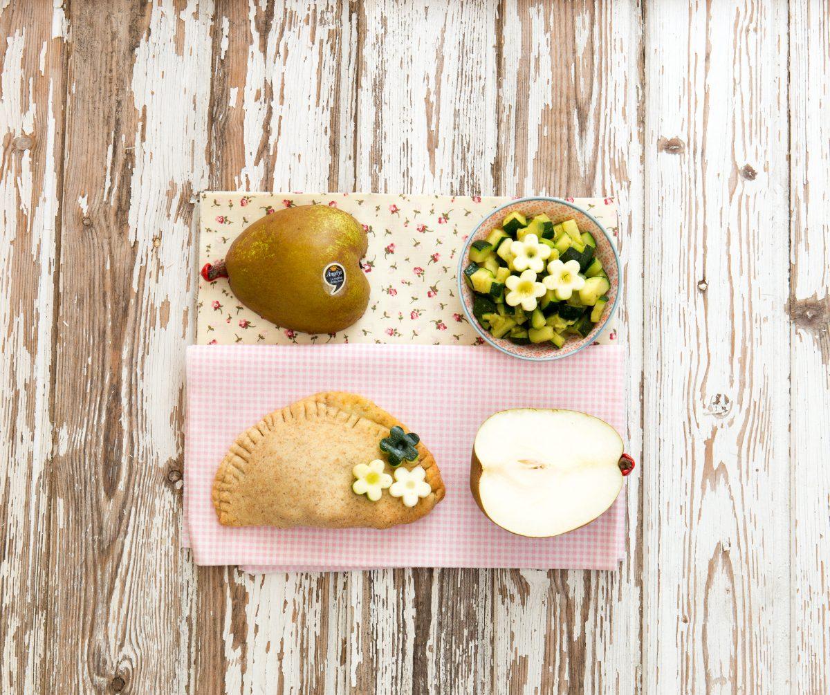 Calzoni forno zucchine pere Angélys stracchino