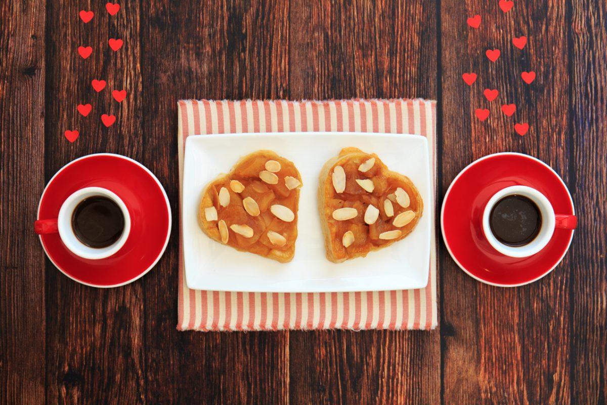 tarte tatin di san valentino