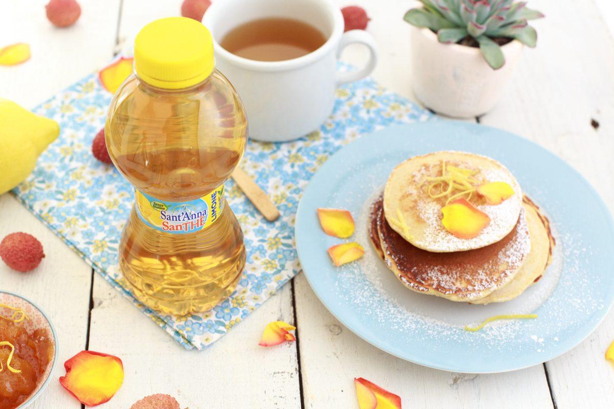 Pancake integrali con miele al profumo di limone
