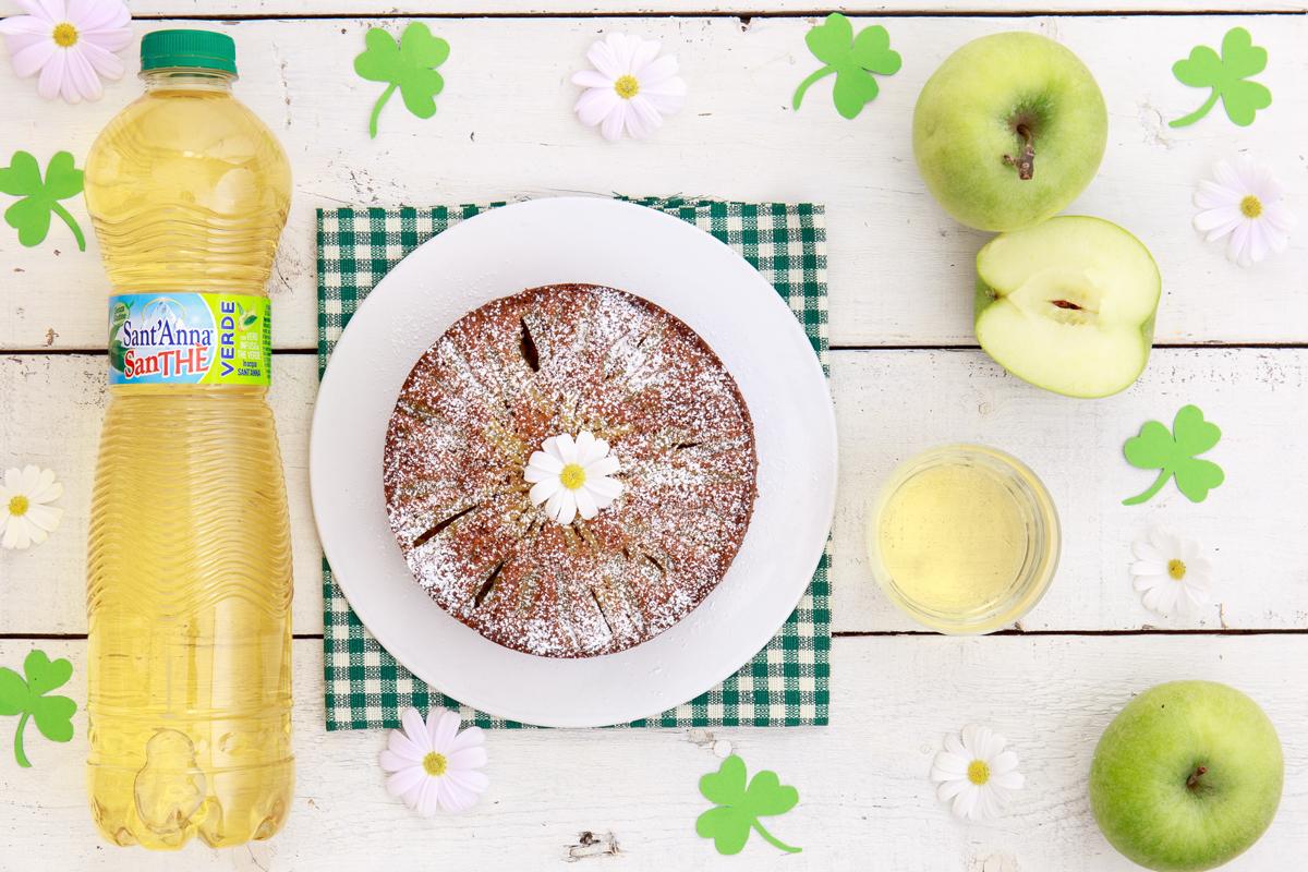 Tortina di mele verdi