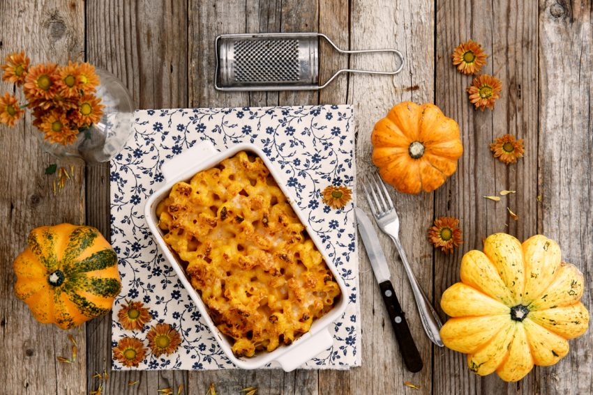 Mac and cheese alla zucca